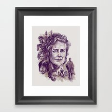 Carol Framed Art Print