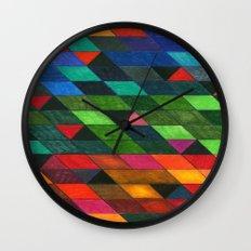 Pattern #1 Tiles Wall Clock