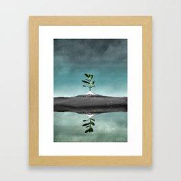 Dramatic scenario Framed Art Print