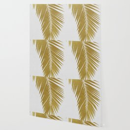 Palm Leaf Gold I Wallpaper