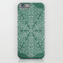 Serene Forest Snow iPhone Case