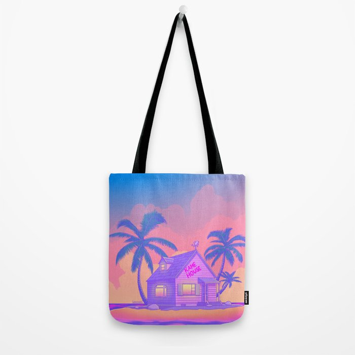 80s Kame House Tote Bag
