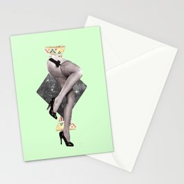 Abstract Legs Stationery Cards