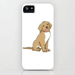 Golden Retriever Puppy Hound Gift iPhone Case