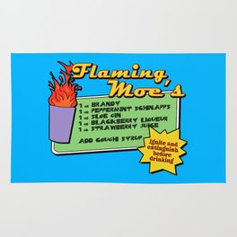 The Simpsons: Flaming Moe Rug