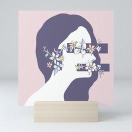 Encumbered Exploration of Existence (Hidden Sensibility) Mini Art Print