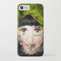 depression iPhone & iPod Cases featuring Depression by ADH Graphic Design