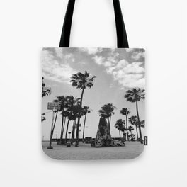 ~Palm trees on the beach~ Tote Bag
