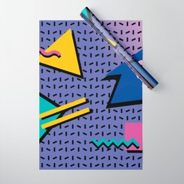 Memphis Pattern 9 - 90s - Retro Wrapping Paper