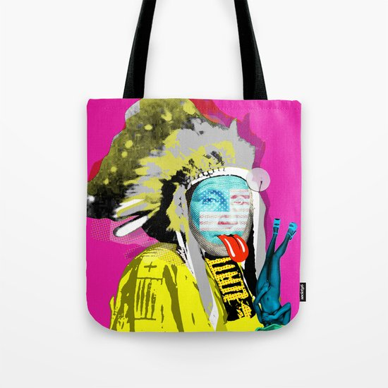 Indian Pop 96 Tote Bag