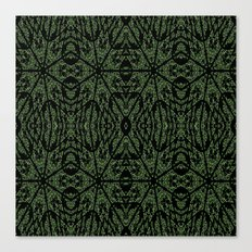 Forest Green Etch Canvas Print