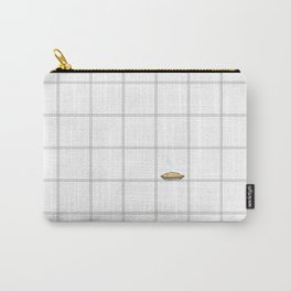 Pie Cooling on the Windowpane Pattern Carry-All Pouch