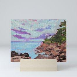 Minnesota Shoreline Painting Mini Art Print