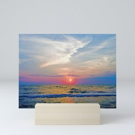 Naples Florida sunset on the Gulf of Mexico Mini Art Print