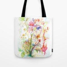 Floral Spree Tote Bag