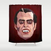 dracula Shower Curtains featuring Dracula by Ruben Alexander