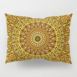 Garden Mandala Ornament Pillow Sham