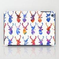 reindeer iPad Cases featuring Reindeer by Verismaya