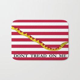 Don't Tread On Me -- First Navy Jack Bath Mat