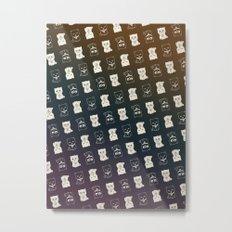 FORTUNE PATTERN Metal Print