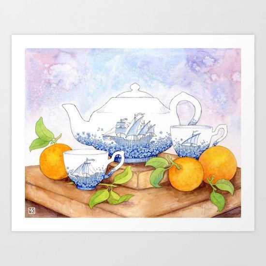 January II Art Print