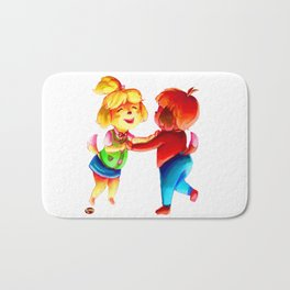 isabelle and digby Bath Mat