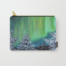 Northern Lights, Algonquin Park Carry-All Pouch