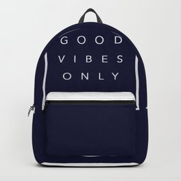 Good vibes only new shirt art vibe love cute hot 2018 style fashion sticker iphone cover case skin m Backpack