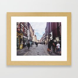 Near Oxford Circus Framed Art Print