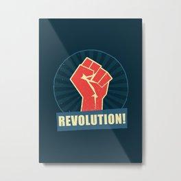 Revolution! Metal Print