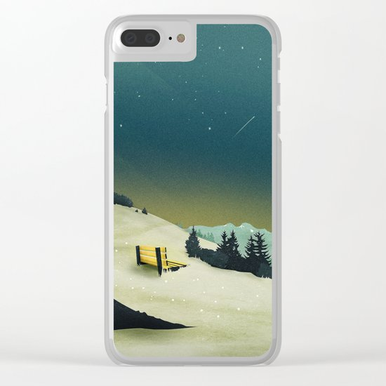 Worth the Wait Clear iPhone Case