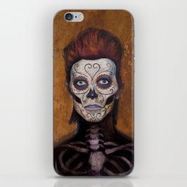 Bowie Day Of The Dead iPhone Skin