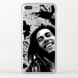 MARLEY BOB Clear iPhone Case
