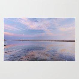 """Heaven walk"". Tarifa beach Rug"