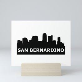 San Bernardino Skyline Mini Art Print