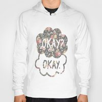 tfios Hoodies featuring OKAY?OKAY THE FAULT IN OUR STARS TFIOS HAZEL AUGUSTUS CLOUDS #2 by monalisacried