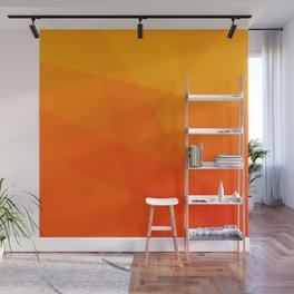 Orange Sunset Wall Mural