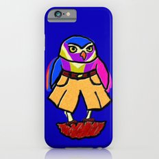 Colorful Owl in Trousers Slim Case iPhone 6s