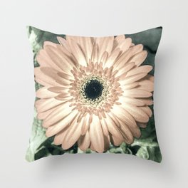 Be Like The Flower... Throw Pillow