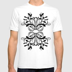 Pattern 5 Mens Fitted Tee White SMALL