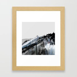 Tokyo in the Ice Age no. 7 Framed Art Print