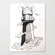 lighthouse found Canvas Print
