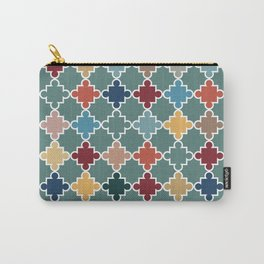Moroccan Color Splash Carry-All Pouch