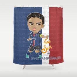 Thiago Captain Shower Curtain