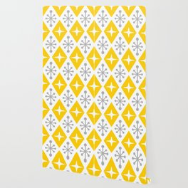 Mid Century Modern Atomic Triangle Pattern 106 Wallpaper