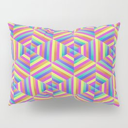 Kaleidoscope Hex Pillow Sham