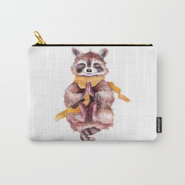 Raccoon buddha Carry-All Pouch