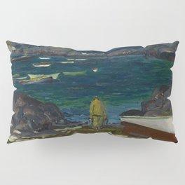 The Harbor, Monhegan Coast, Maine, 1913 Pillow Sham