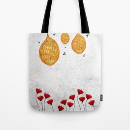 The Dance of the Honeybee Tote Bag