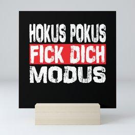 Hocus Pocus Fuck You Mode Mini Art Print